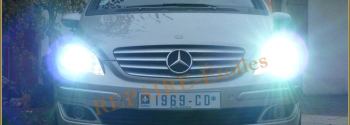 Kit HID-Xenon sur B-Klasse Mercedes W245