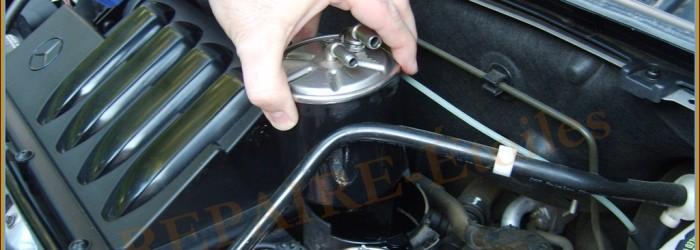 Remplacement Filtre Gasoil – B200 CDI – W245 – DIY