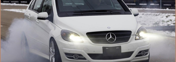 B55 AMG – Le Monospace B-Klasse V8 (Made in Rastatt)