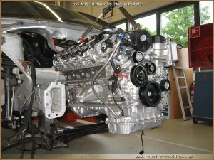 B55 AMG - Le projet Monospace B-Klasse V8 de Rastatt