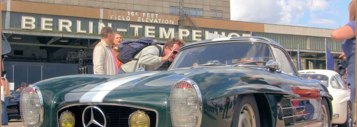 Berlin Tempelhof – Meeting « Mercedes-Benz & Friends »