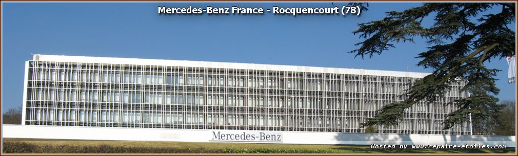 nouveau siege social mercedes benz france montigny le bretonneux. Black Bedroom Furniture Sets. Home Design Ideas