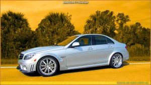 C74 Konzept RennTech - Mercedes-Benz C63 AMG