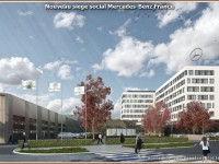 Nouveau siege social & Campus Mercedes-Benz France