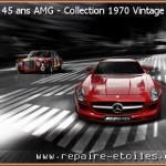 Le Logo AMG fête son Anniversaire des 45 ans – Collection 1970 Vintage
