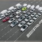 Teasing Mercedes AMG : 8 nouveaux modèles annoncés. Les 30 Glorieuses.