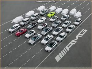 Teasing Mercedes AMG : 8 nouveaux modèles annoncés