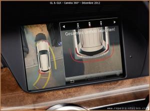 Une Camera 360 ° chez Mercedes fin 2012