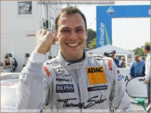 Qualification Norisring 2012 - Gary PAFFETT en Pole Position