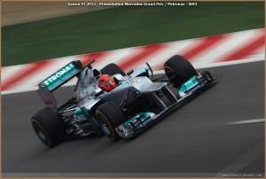 Show : Mercedes AMG Petronas W03