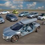 La route du futur tracée par Mercedes-Benz