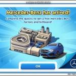 SimCity social – Partenariat Mercedes / Electronic Arts