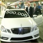 Mercedes-Benz E-Klasse W212 à 500.000 exemplaires