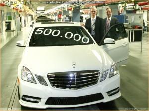 500000 E-Klasse Mercedes