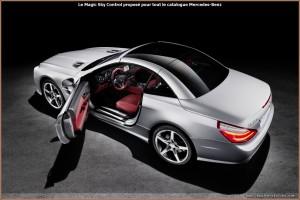 Mercedes Magic Sky Control