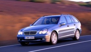 La Mercedes C-Klasse break W203