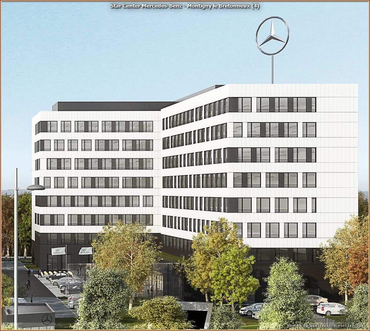 Mercedes Benz Service D: Les Travaux Avancent Rapidement