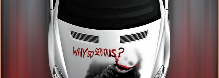R-Klasse Dark Night – Why so serious? JOKER!