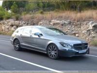Mercedes CLS Shooting-Brake Face-Lift 2015 Spy-shots