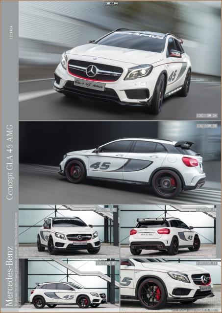 Mercedes GLA 45 AMG Concept - Los Angeles 2013