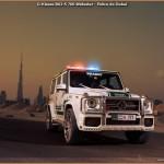 G-Klasse Brabus B63-S 700 Widestar – Police de Dubaï