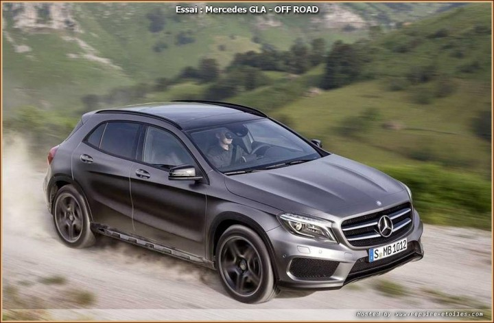 GLA-Klasse Mercedes X156 - OFF ROAD