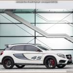 GLA 45 AMG Concept – Officiel Mercedes au Salon de Los Angeles