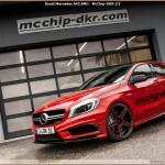 McCHIP-DKR boost la Mercedes-Benz A-Klasse  A45 AMG