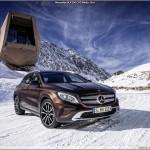 Quatre roues motrices – Couple 4Matic et pneus hiver