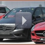 Spy Video du B-Klasse (W246) Mercedes – Face-Lift 2014