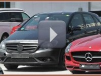 Spy Video du B-Klasse FaceLift 2014 (1)