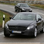 Mercedes CLS-Klasse FaceLift 2015 – Spy Shots