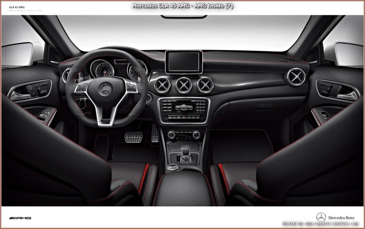 Mercedes Benz Cla >> Mercedes GLA 45 AMG - Dossier de presse Officiel MB