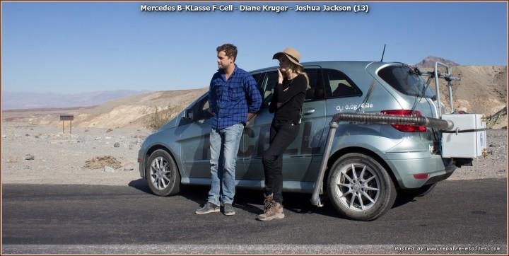 Mercedes B-KLasse F-Cell - Diane Kruger - Joshua Jackson