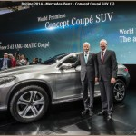 Mercedes Beijing 2014 – Concept SUV Coupé – C-Klasse Version Longue