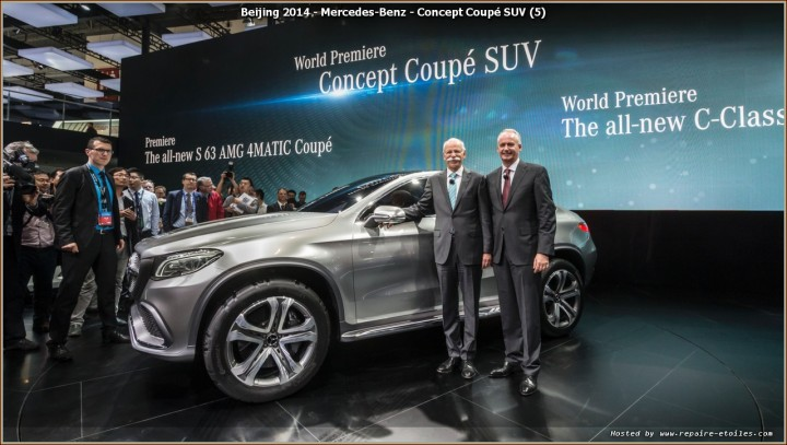 Mercedes Beijing 2014 - Concept Coupe SUV