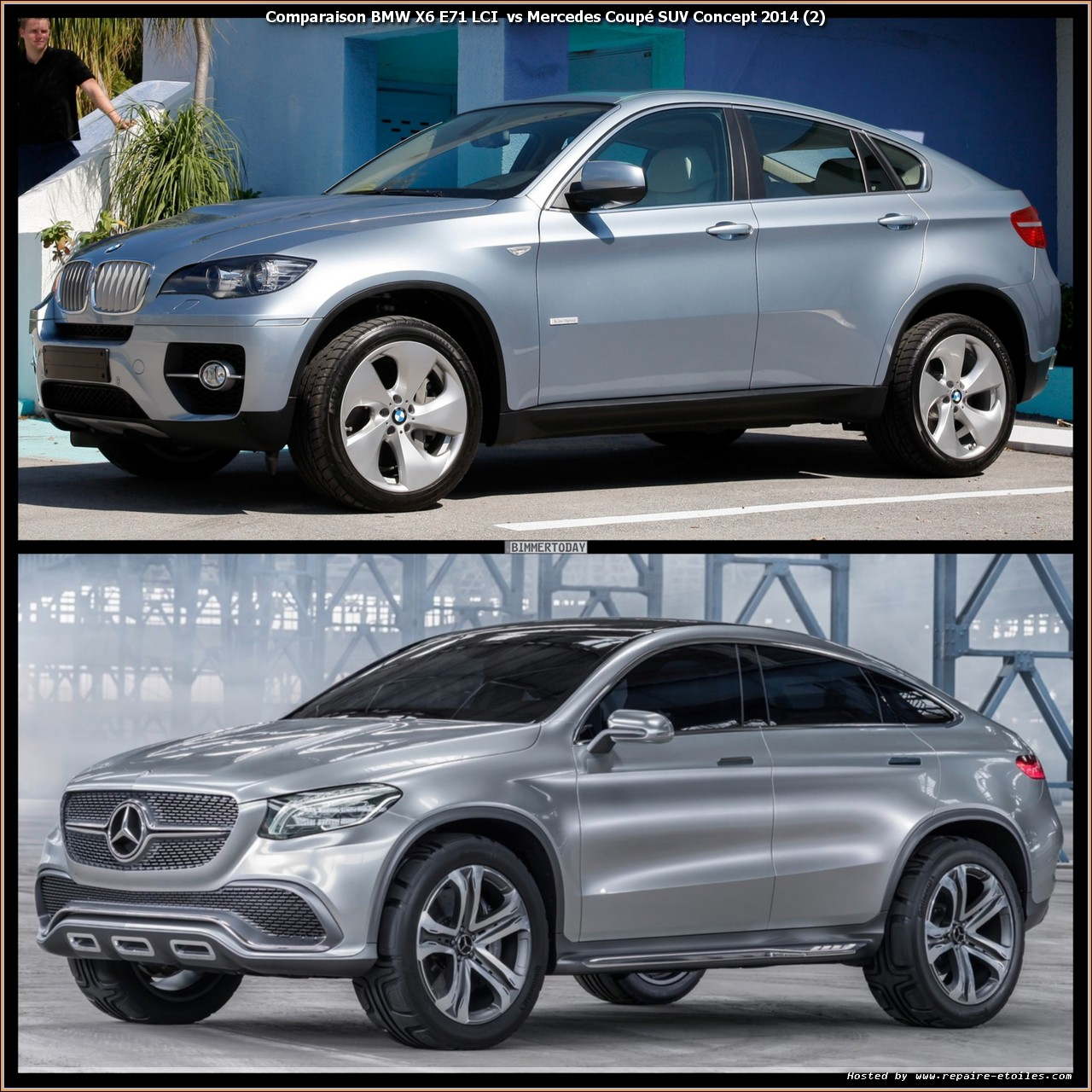 comparaison mlc vs bmw x6 stuttgart vs munich