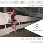 Pop Up Store Mercedes – Cannes – Avril 2014