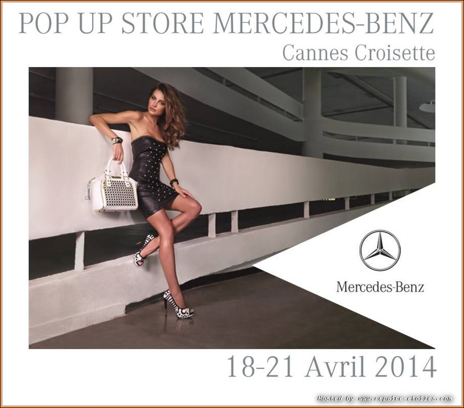 Pop Up Store Mercedes - Cannes 2014
