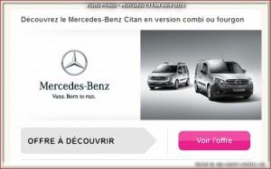 Vente Privée - Mercedes CITAN