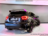 Mercedes A45 AMG Erika - Pink Panther Look (AMG Performance Studio)