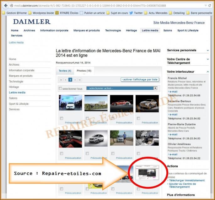 Repaire-Etoiles.com - Sur Mercedes France (2) - CITAN RoseDeal Vente-Privée