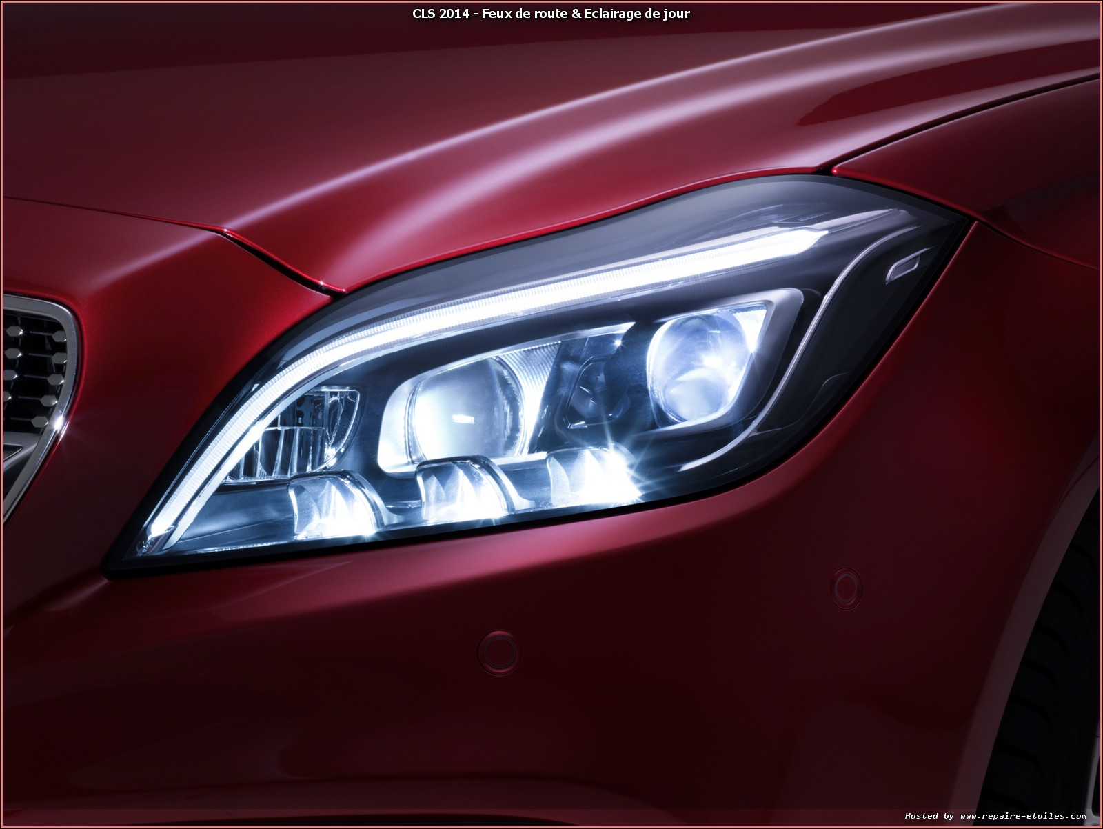 Multibeam Led 201 Clairage Adaptatif Haute Technologie Mercedes