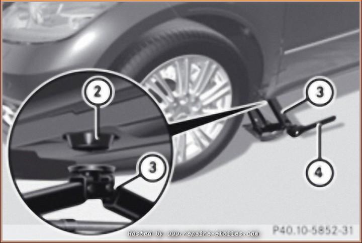 Changement de roue avec Cric de bord (3)