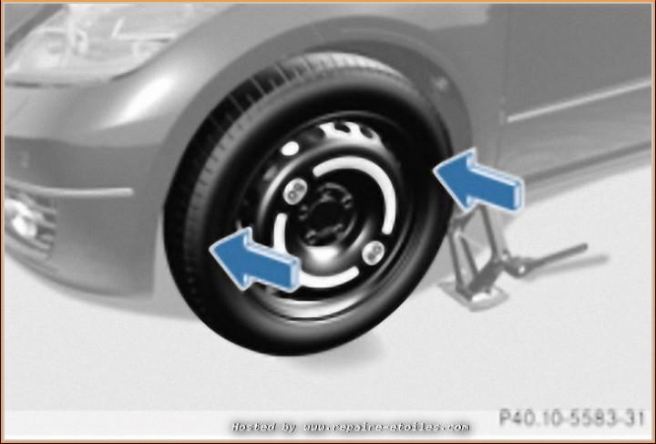 Changement de roue avec Cric de bord (7)