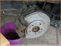 Freins Avant W245 - Remplacement Disques et Plaquettes AV (18) - Montage Final