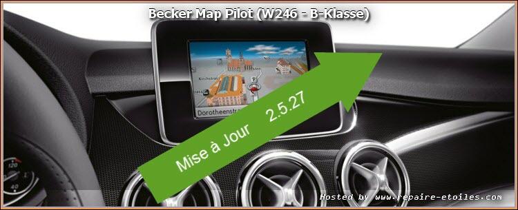 GPS Becker MAP PILOT - Mise à jour du logiciel 2.5.27