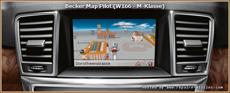 gps becker map pilot mise jour du logiciel 2. Black Bedroom Furniture Sets. Home Design Ideas