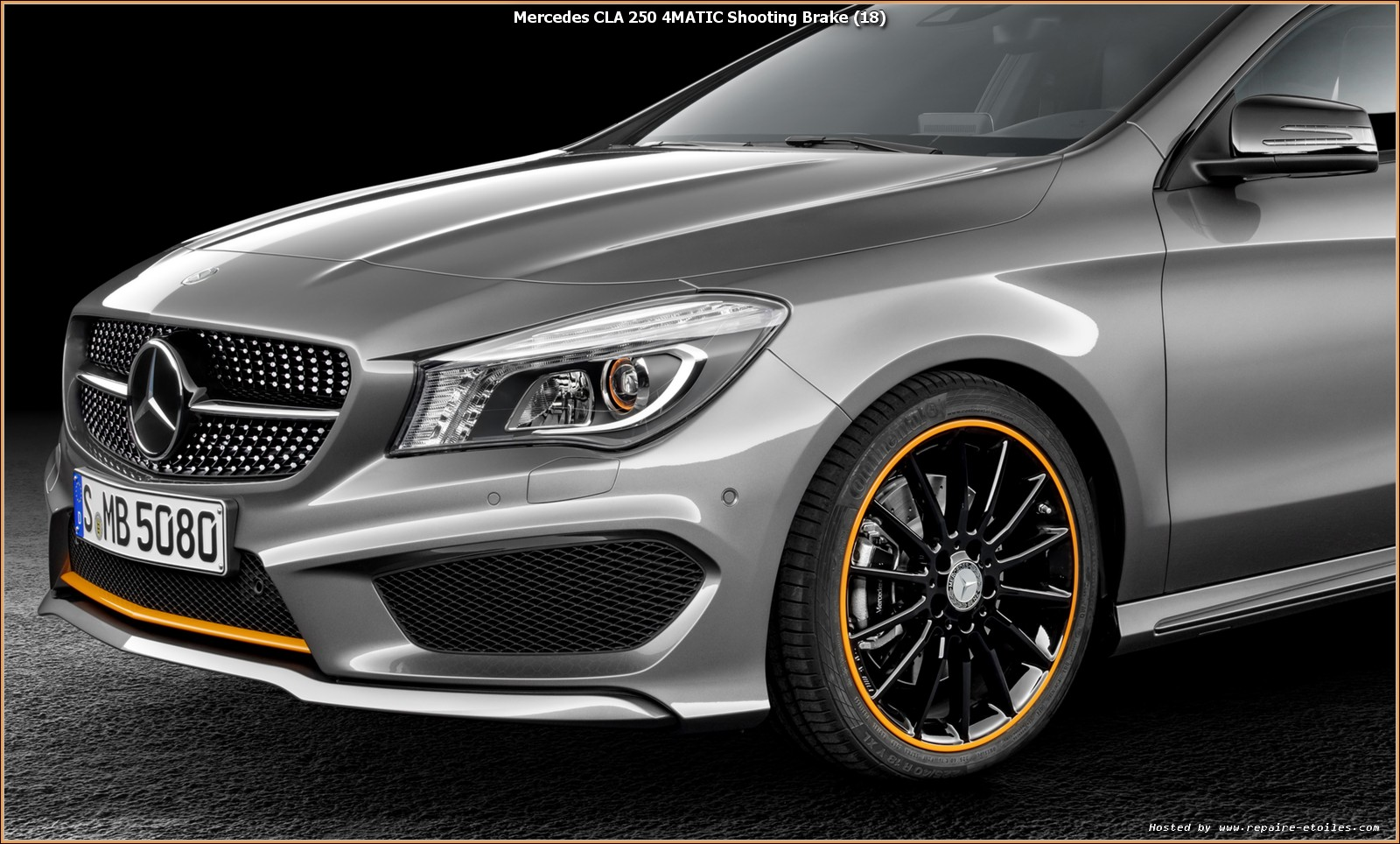 nouveau cla shooting brake mercedes x117. Black Bedroom Furniture Sets. Home Design Ideas