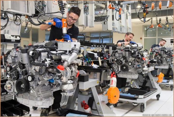 Moteurs V12 AMG